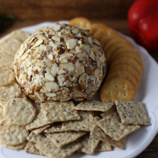 Jalapeno and Red Pepper Cheese Ball