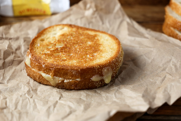 Simply Amazing Grilled Cheese