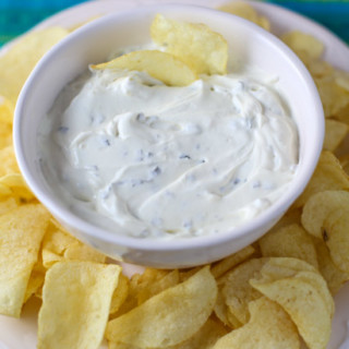 Chive and Onion Dip