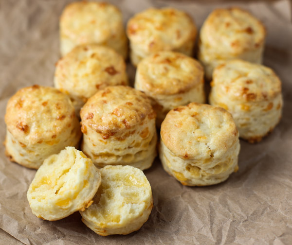 Cheddar Cream Biscuits