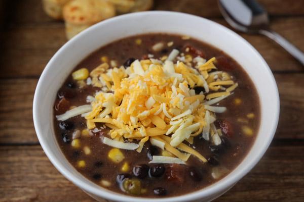 Quick Black Bean Soup