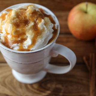 Salted Caramel Apple Spiced Cider