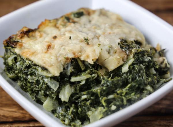 spinatgratin spinach gratin karen s kitchen stories spinach gratin ...