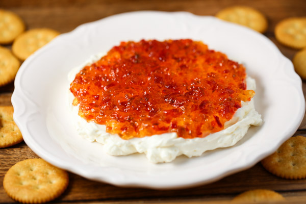 Cream Cheese & Red Pepper Jelly