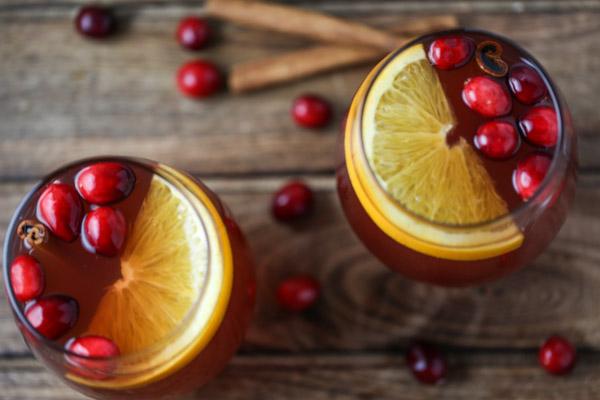 Slow Cooker Cranberry Cider