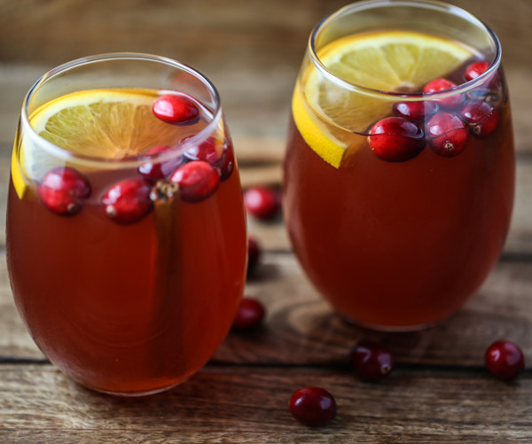 Slow Cooker Cranberry Cider