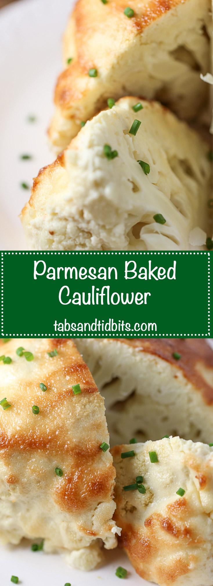 Parmesan Baked Cauliflower