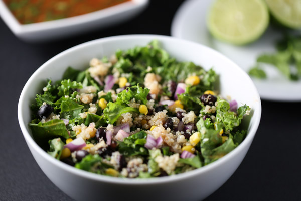 Spicy Kale & Quinoa Salad