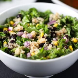 Spicy Kale & Quinoa Salad