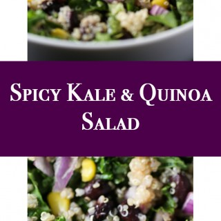 Spicy Kale and Quinoa Salad