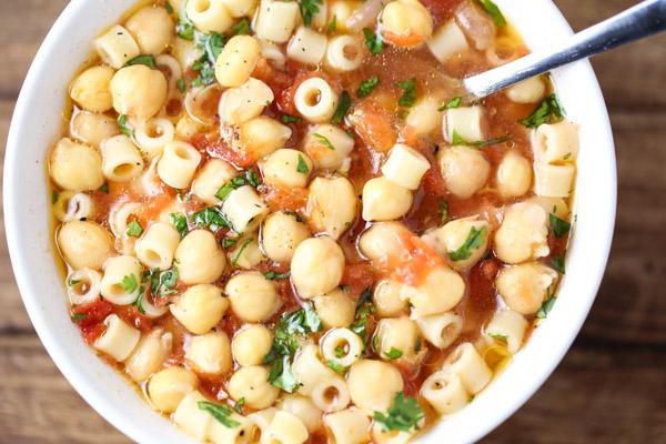 Pasta e Ceci Soup
