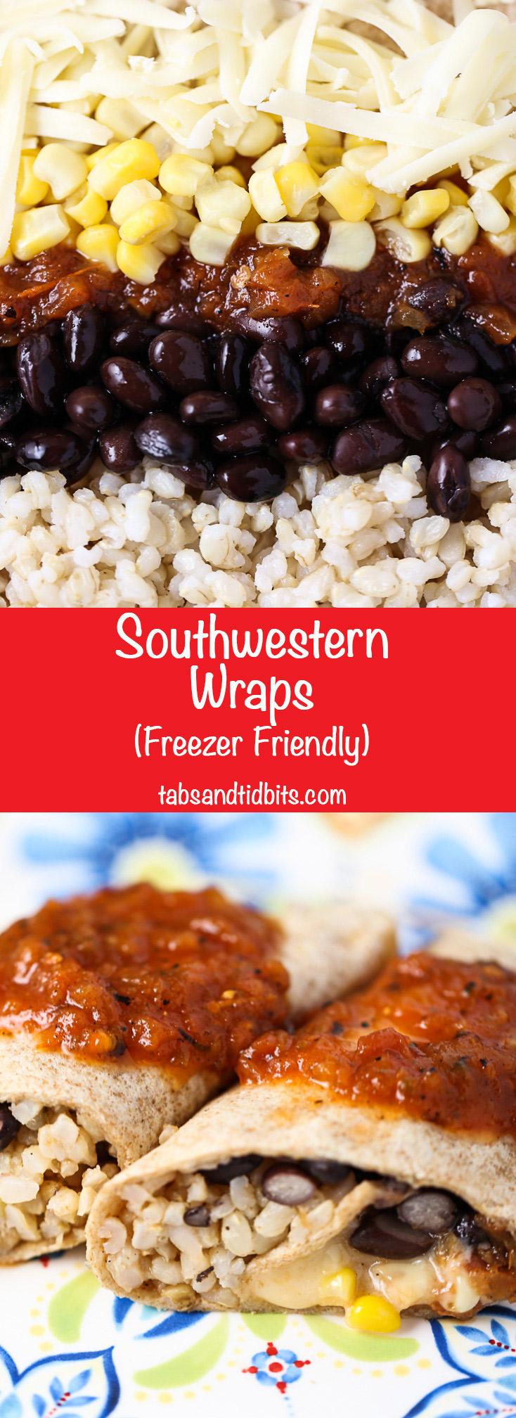 Southwestern Wraps