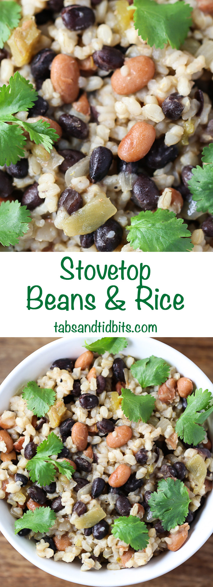 Stovetop Beans & Rice