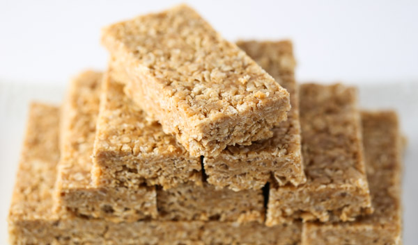 Chewy Peanut Butter Granola Bars