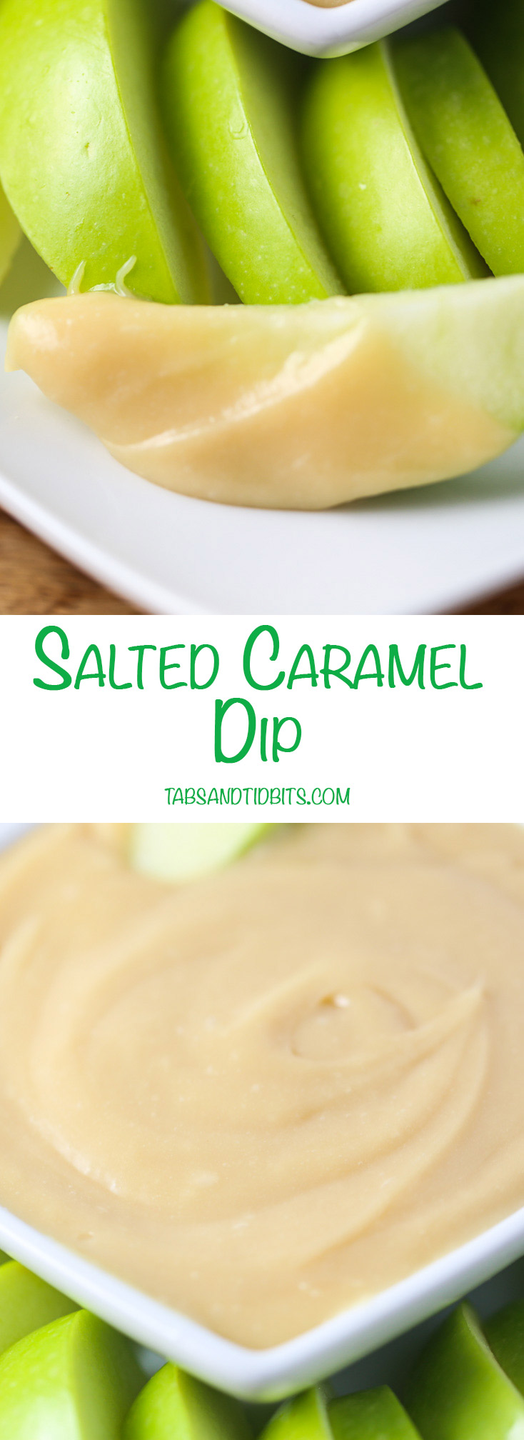 Salted Caramel Dip - This dip comes together in less than 10 minutes!