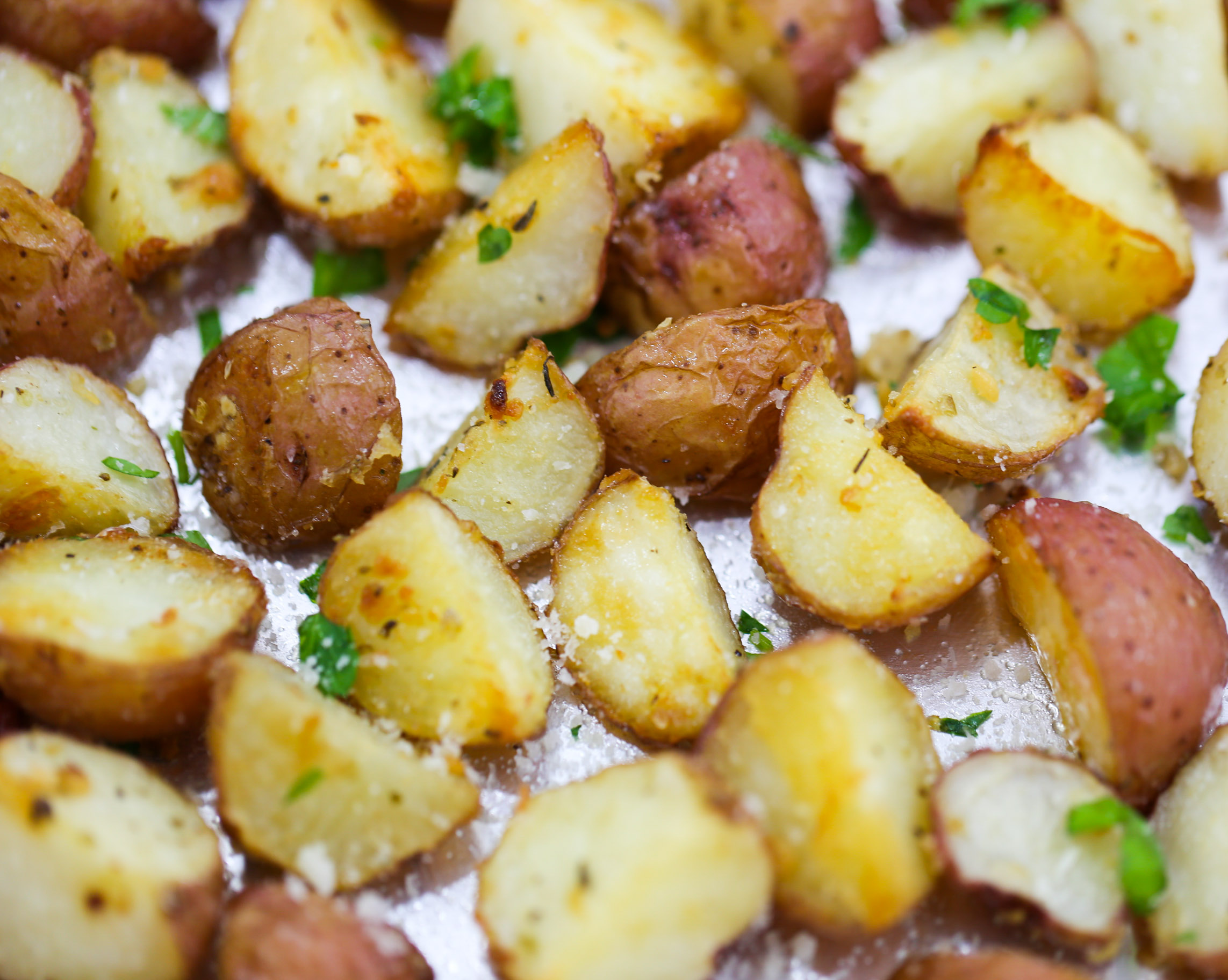 parmesan roasted potatoes garlic parmesan roasted potatoes tabs amp tidbits 30230
