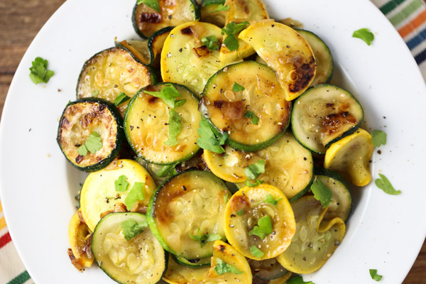 Sauteed Zucchini & Yellow Summer Squash