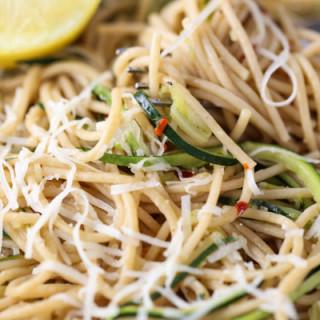 Zesty Spaghetti and Zucchini