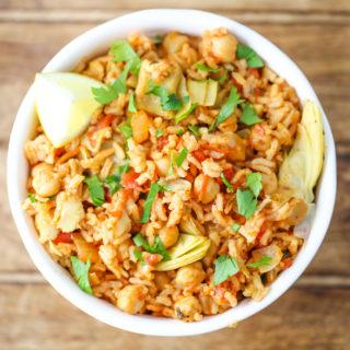 Spanish Chickpeas & Rice