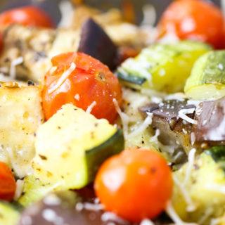 Veggie Parmesan Bake