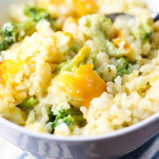 Broccoli Cheddar Casserole