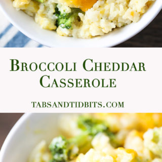 "Broccoli Cheddar Casserole - Broccoli Cheddar Casserole with no ""condensed cream of"" canned soups, just cheesy, creamy goodness!"