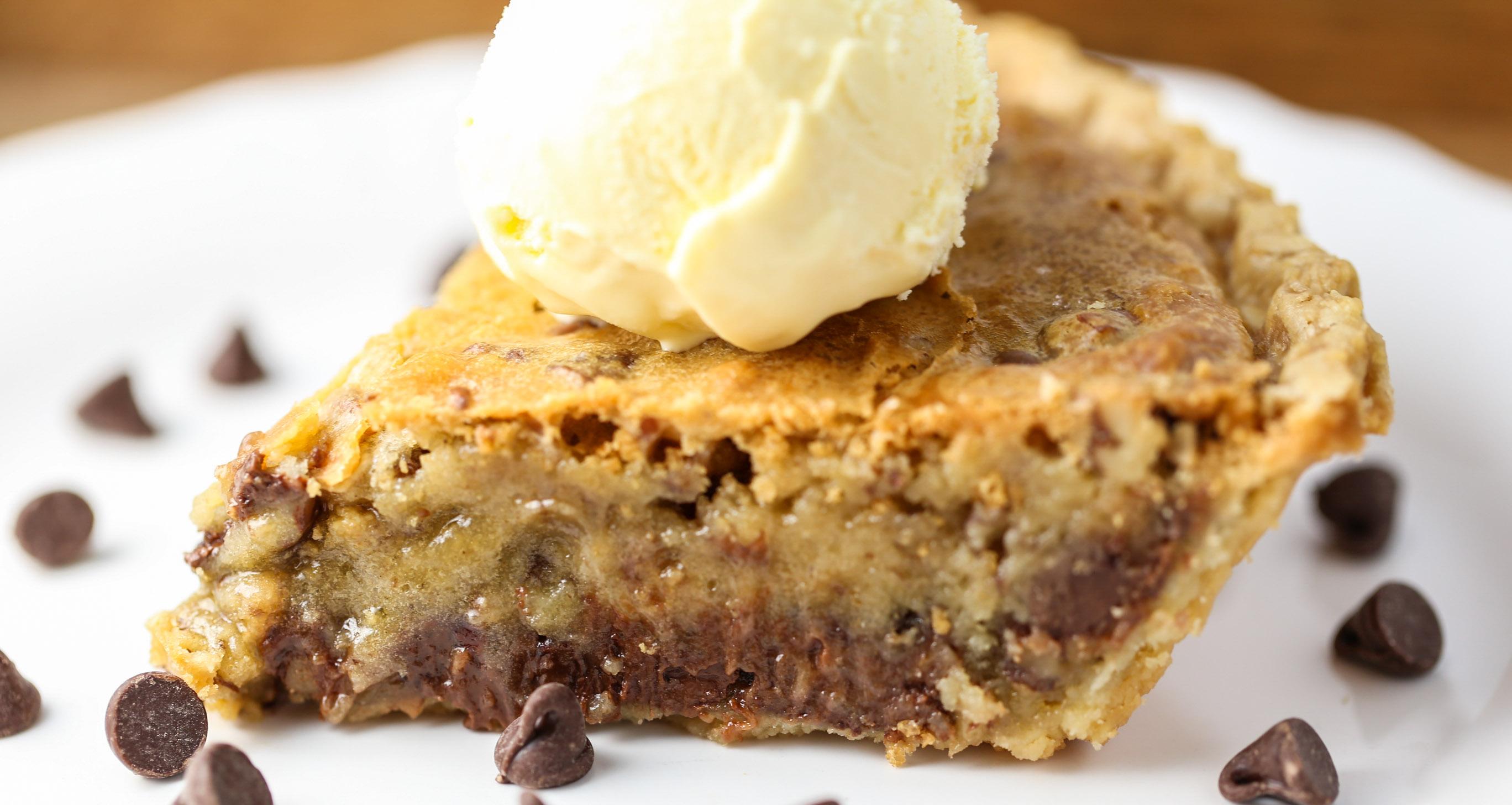 Chocolate Chop Cookie Pie