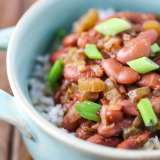 Vegetarian Red Beans & Rice