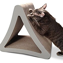 PetFusion 3-Sided Vertical Cat Scratcher & Post