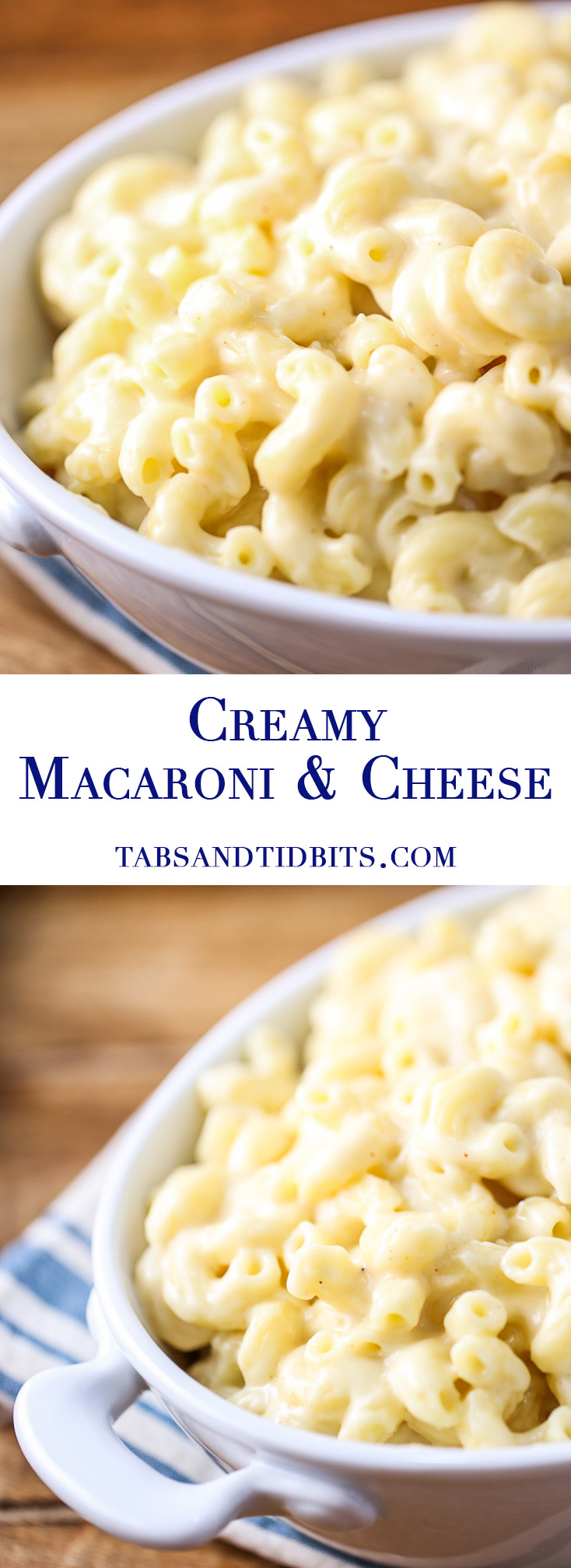 Creamy Macaroni & Cheese - Creamy and decadent macaroni and cheese cooked on the stovetop in one pot.