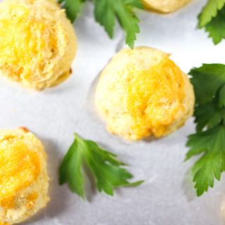 Cheesy Cornmeal Biscuits