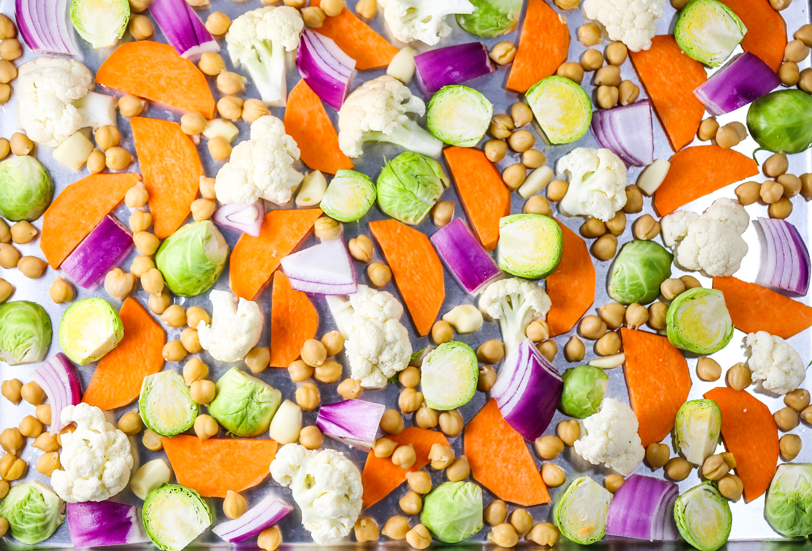 Winter Veggie Sheet Pan Dinner