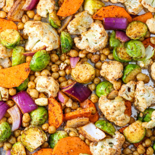Winter Veggie Sheet Pan Dinner