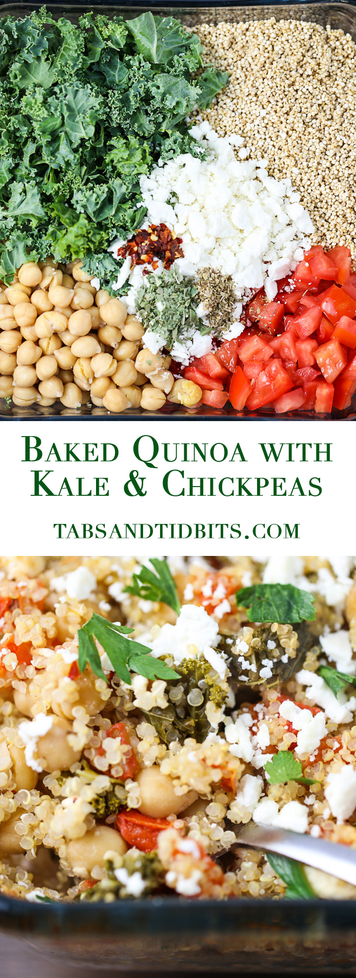 A protein-packed and a flavor-packed vegetarian one dish meal. Yes, the quinoa cooks in the dish too!