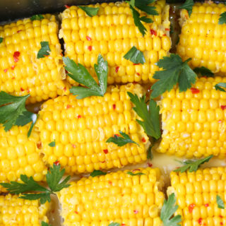 Slow Cooper Corn on the Cob