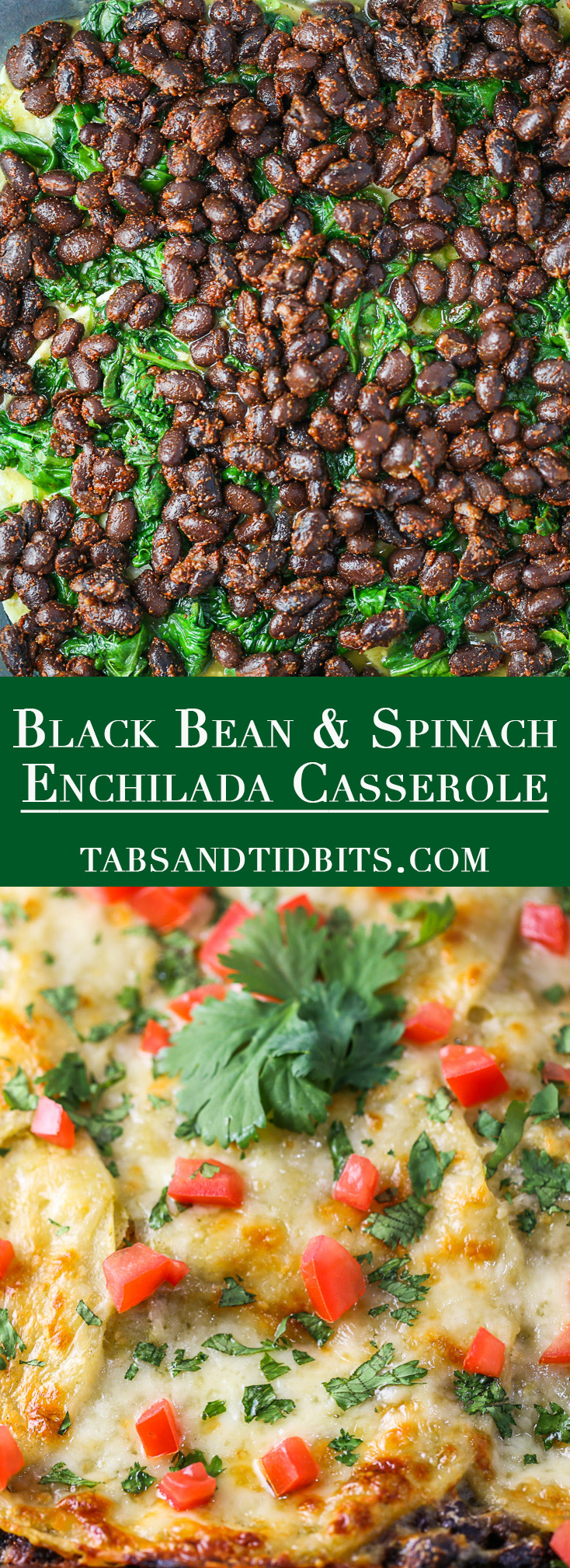Hearty & full of flavor! No need to roll into enchiladas. Plus this dish can be prepped ahead of time for a time saver!