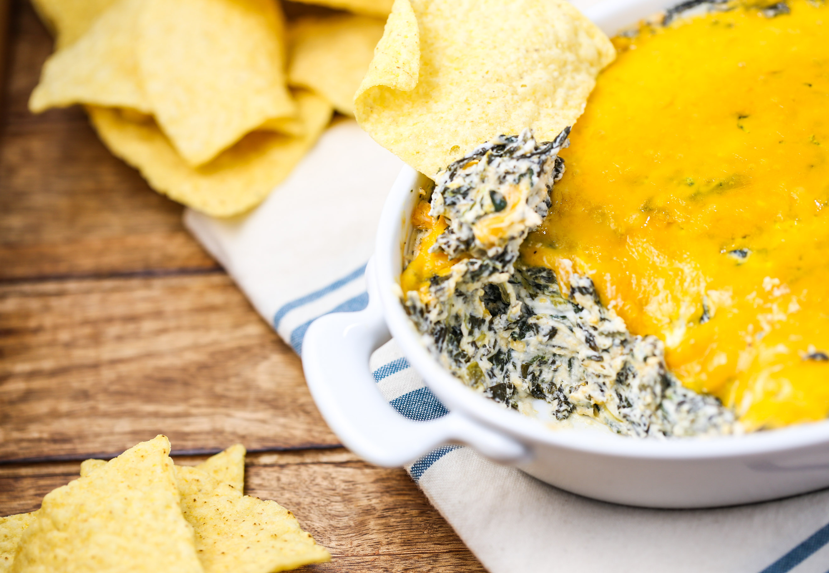 Baked Spinach Ranch Dip