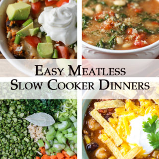 Easy Meatless Slow Cooker Dinners