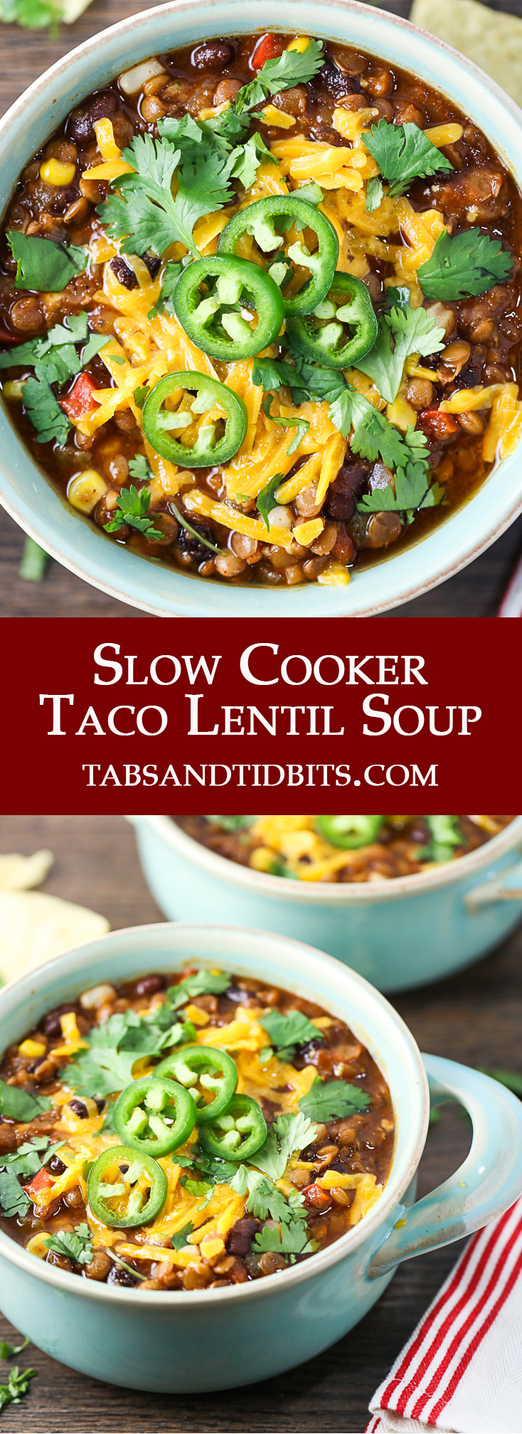 A vegetarian hearty soup filled with protein and amazing mixture of spices!