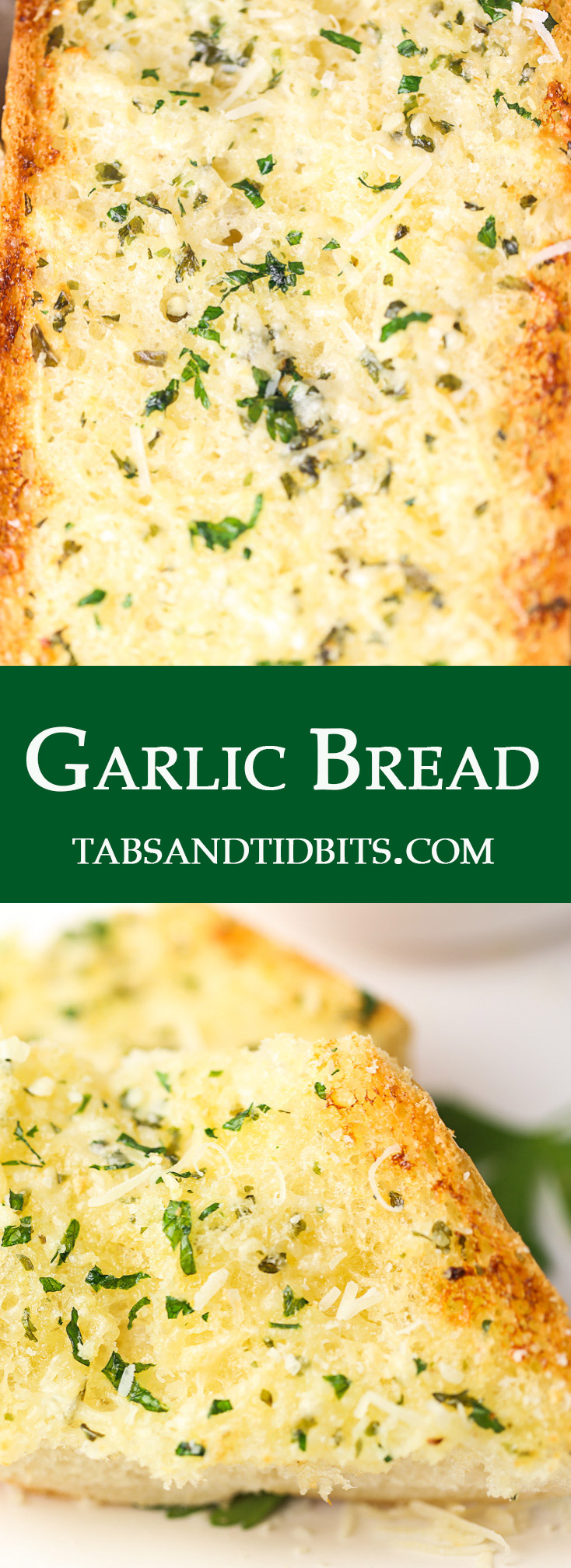 Full of buttery garlic with the perfect balance of seasonings and toped off with fresh parmesan cheese!