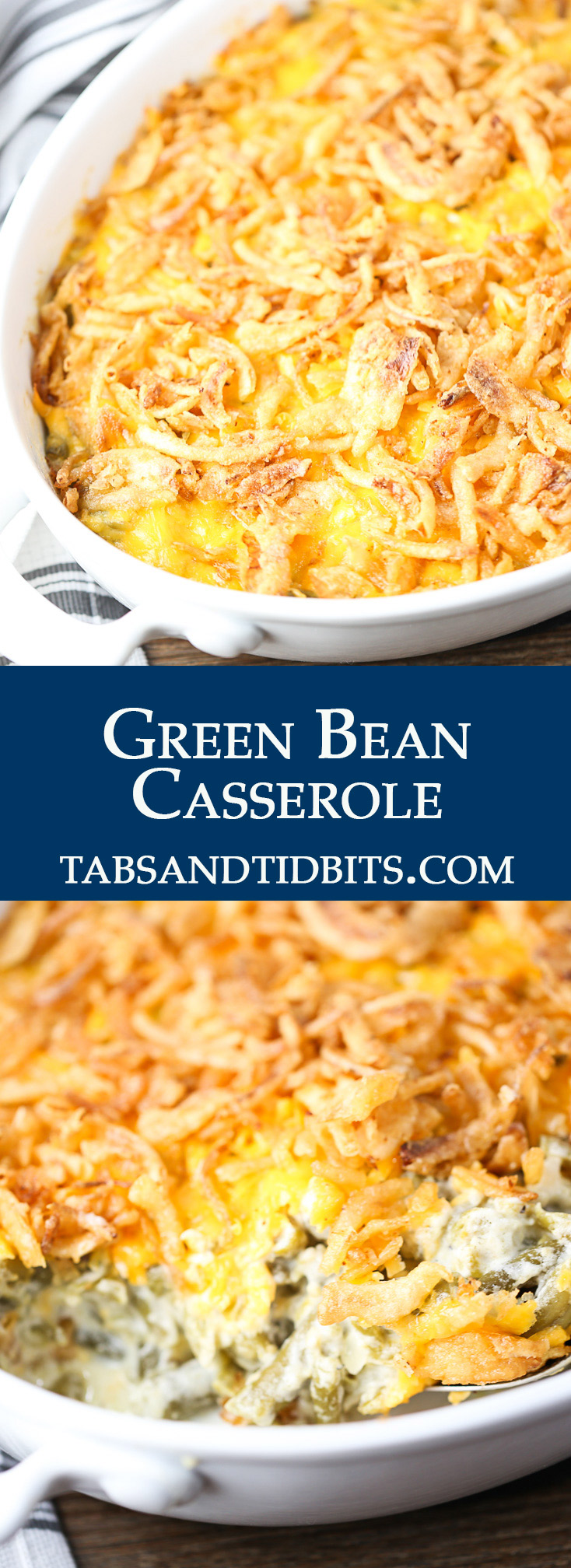 No condensed cream of soup and full of cheesy and creamy flavor!
