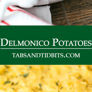 Simple to make yet completely delicious cheesy potatoes.