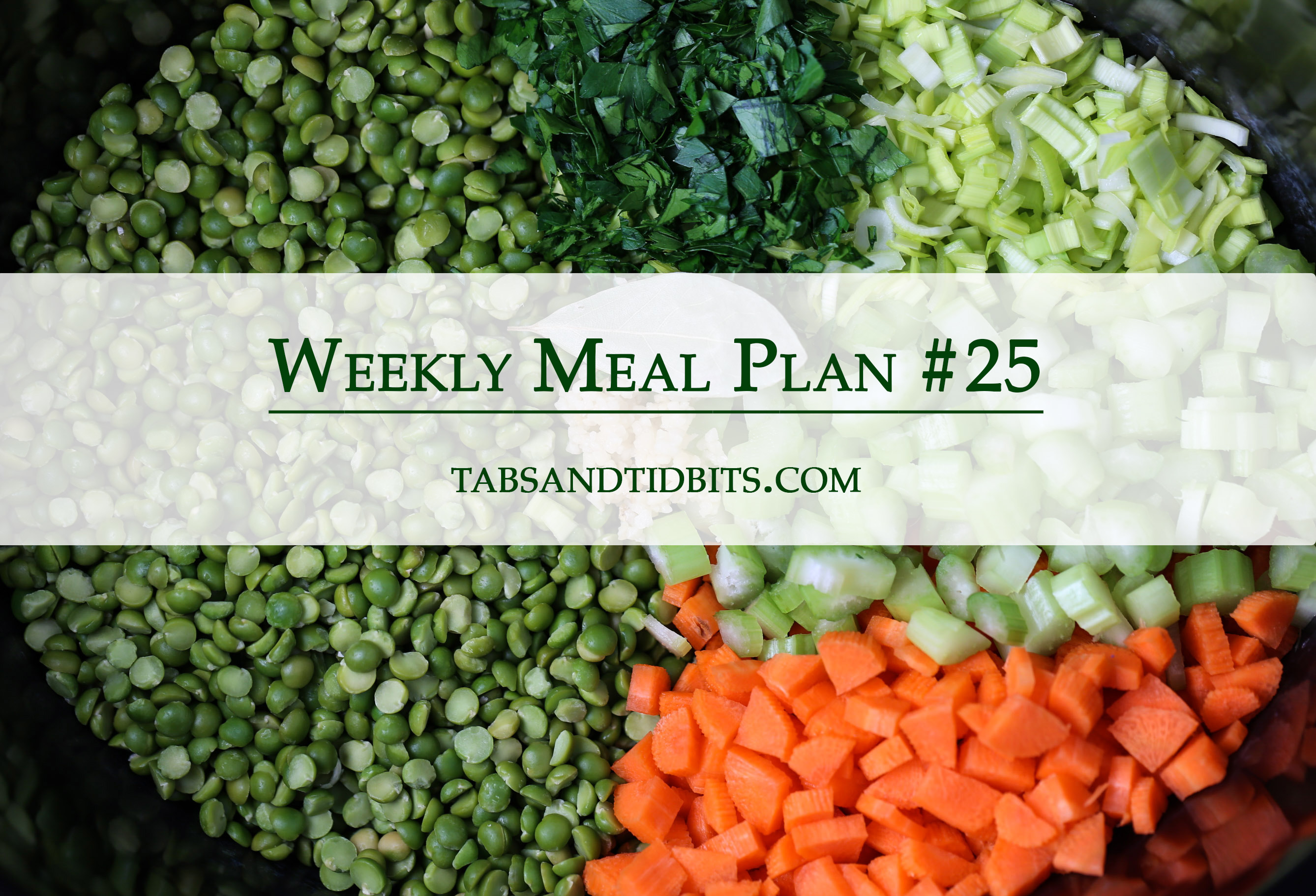 Weekly Meal Plan 25