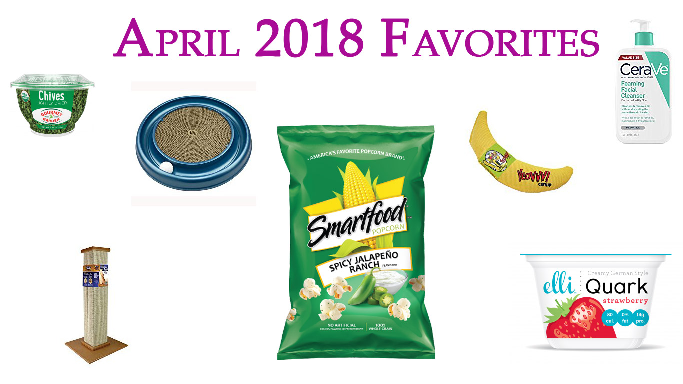 April 2018 Favorites