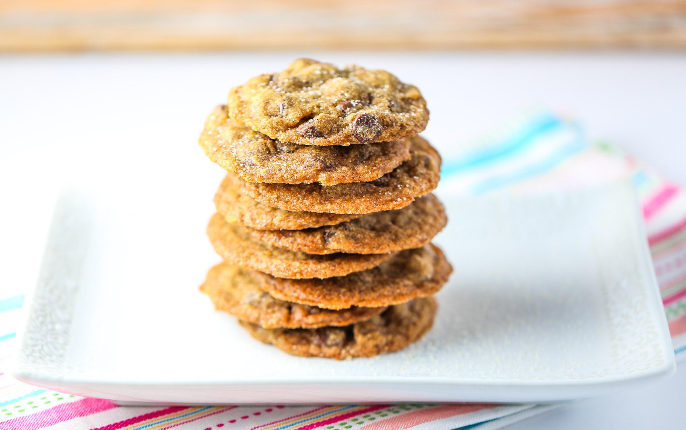 Cinnamon Espresso Chocolate Chip Cookies