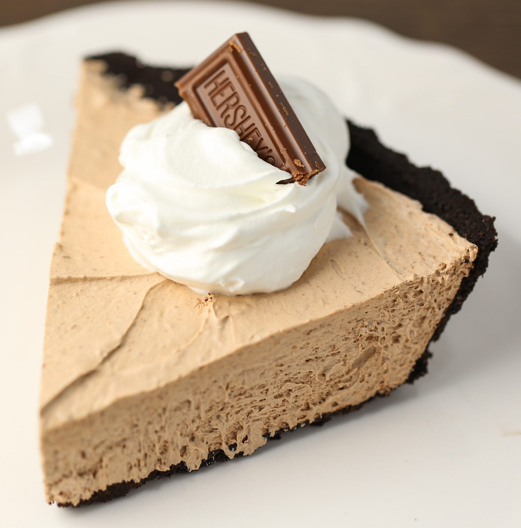 3 Ingredient Chocolate Pie
