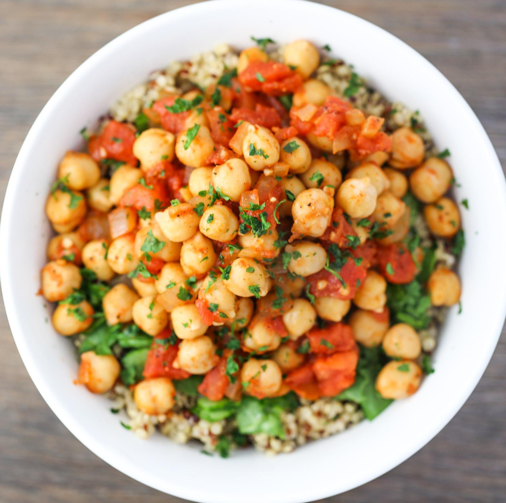 Chickpea & Quinoa Bowls