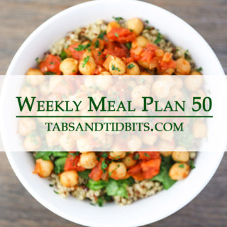 Vegetarian Weekly Meal Plan