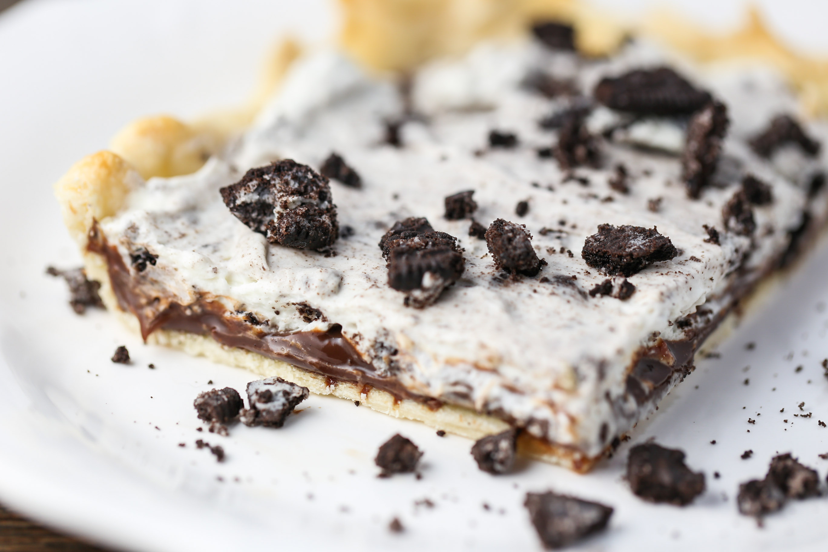 Cookies & Cream Slab Pie