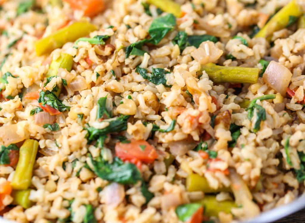 Brown Rice Veggie Bowl